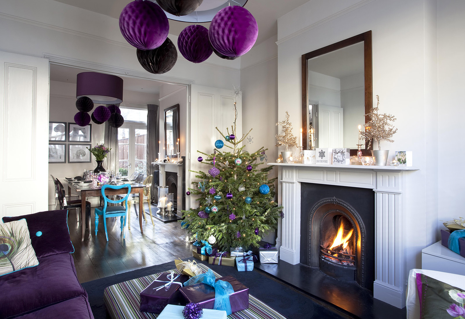 Houzz tour a victorian family home that s made for for Victorian terrace living room ideas